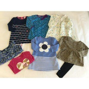 Girls 2T Clothes Gap Gymboree Carters Dresses Fall